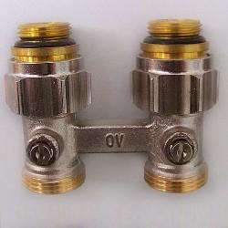 Oventrop вентиль MULTIFLEX F ZB прямой 1/2 UM 3/4 AG
