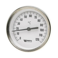 Watts Термометр биметаллический с погружной гильзой F+R801(TSD) 63/50