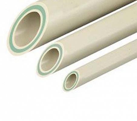 Труба полипропиленовая армированная PN20 Faser со стекловолоконным слоем FV-PLAST 25х4.2мм штанга 4м