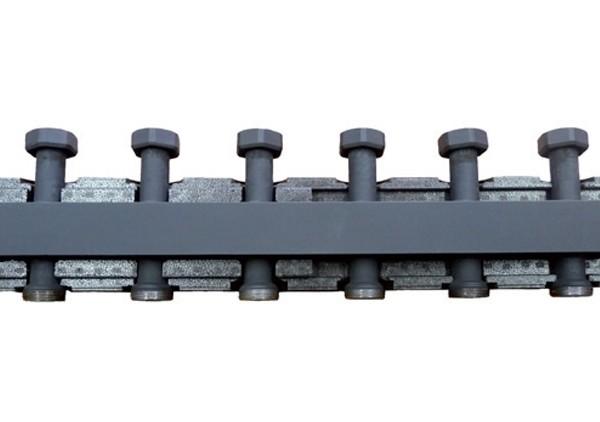 BARBERI Распределительный коллектор (3 отопит. контура, в теплоизоляции, сталь)