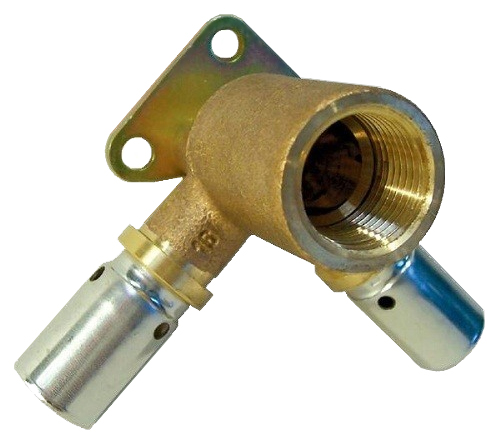 Водорозетка Oventrop Cofit P 16xRp1x16 проходная