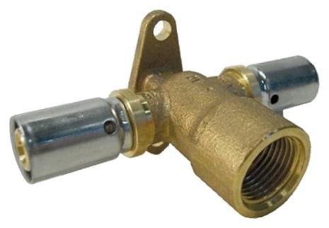 Водорозетка Oventrop Cofit P 16xRp1x16 удлиненная, проходная