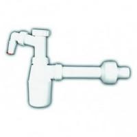 Бутылочный сифон HL c возможностью подключения стиральной машины, DN40