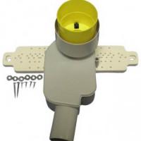 Встраиваемый сифон HL с монтажной плитой, DN 40