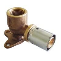 Пресс-угольник с креплением Oventrop 16х2,0мм х R 1/2