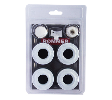 Радиатор ROMMER 1/2 монтажный комплект 7в1