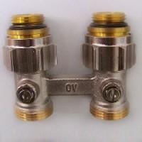 Вентиль Oventrop MULTIFLEX F ZB прямой 1/2 UM 3/4 AG