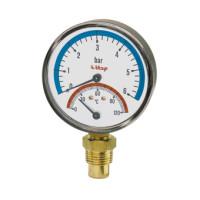 Термоманометр Itap 484 1/2 боковое подключение