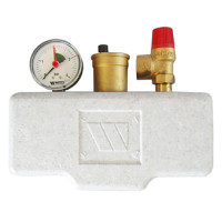 Watts KSG 30/20M-ISO Группа безопасности в теплоизоляции 3 бар (до 100 кВт)