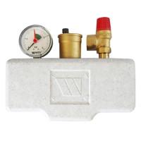Watts KSG 30/25M-ISO2 Группа безопасности в теплоизоляции 3 бар (до 200 кВт)