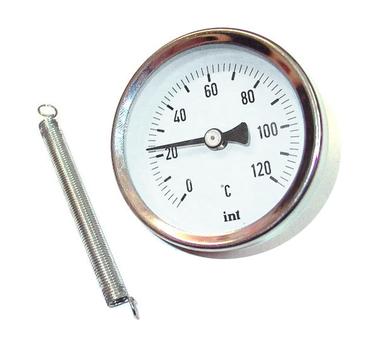 Термометр Watts FR810(ТАВ) 63/120 биметаллический накладной