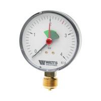 """Манометр радиальный Watts F+R201(MHR) 50/4x1/4"""" 50мм, 0-4 бар"""