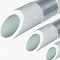 Труба полипропиленовая армированная алюминием FV-PLAST Stabioxy PN20 40х4.5 мм штанга 4м