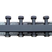 Распределительный коллектор BARBERI стальной, 3(5) отопительных контура