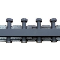 Распределительный коллектор BARBERI стальной (3 контура)