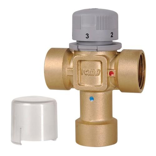 """Термостатический смеситель с внутренней резьбой ICMA  3/4"""" 2 Kv, м3/ч"""