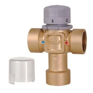 """Термостатический смеситель с внутренней резьбой ICMA 1/2"""" 1,5 Kv, м3/ч"""