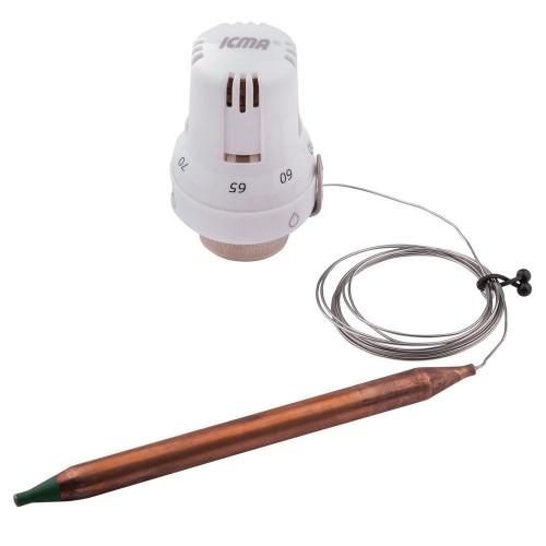 Термостатическая головка с погружным датчиком ICMA