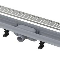 Душевой лоток AlcaPlast APZ10-Simple 650 с решеткой и опорами