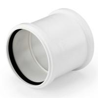 Канализационная муфта двухраструбная REHAU RAUPIANO 110 мм