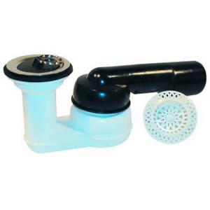Сифон HL со сливным отверстием 52 мм, с поворотным шарниром, DN 40/50