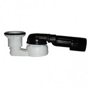 Сифон HL для душевого поддона, с поворотным шарниром, без крышки, DN40/50