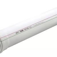 Канализационная труба REHAU RAUPIANO 50 мм 0,5 м