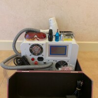 Неодимовый лазер для удаления тату и пигментации с функцией карбонового пиллинга