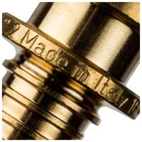 Тройник переходной 16x20x16 для труб из сшитого полиэтилена аксиальный STOUT SFA-0014-162016