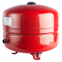 Расширительный бак на отопление 35 л. (цвет красный) STOUT STH-0005-000035
