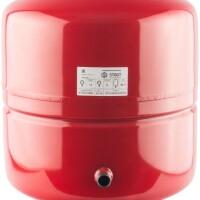 Расширительный бак на отопление 50 л. (цвет красный) STOUT STH-0005-000050