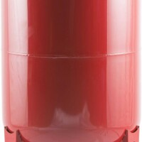 Расширительный бак на отопление 200 л. (цвет красный) STOUT STH-0006-000200