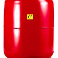 Расширительный бак на отопление 100 л. (цвет красный) STOUT STH-0006-000100
