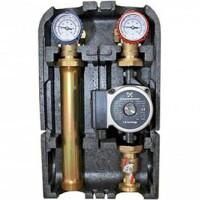 """Насосная группа с термостатическим смесительным клапаном 1"""" с насосом Grundfos UPSO 25-65 STOUT SDG-0002-002502"""