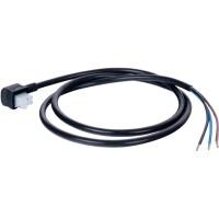 Соединительный кабель сервопривода со штепсельным соединением 1м. (3х0,75 мм)  STOUT SVM-0071-230001