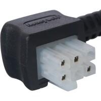 Соединительный кабель сервопривода со штепсельным соединением 1м., 4 жилы (4х0,75мм)  STOUT SVM-0071-230002