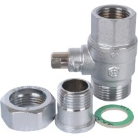 Шаровой 2-ходовой зональный клапан НВ 1 1/4*1 1/4  STOUT SVM-0072-200132